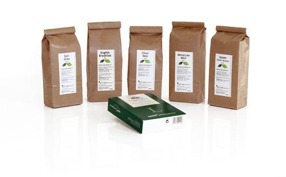 Teekaupan uusia tuotepaketteja sekä suositut Teeli-filtterit
