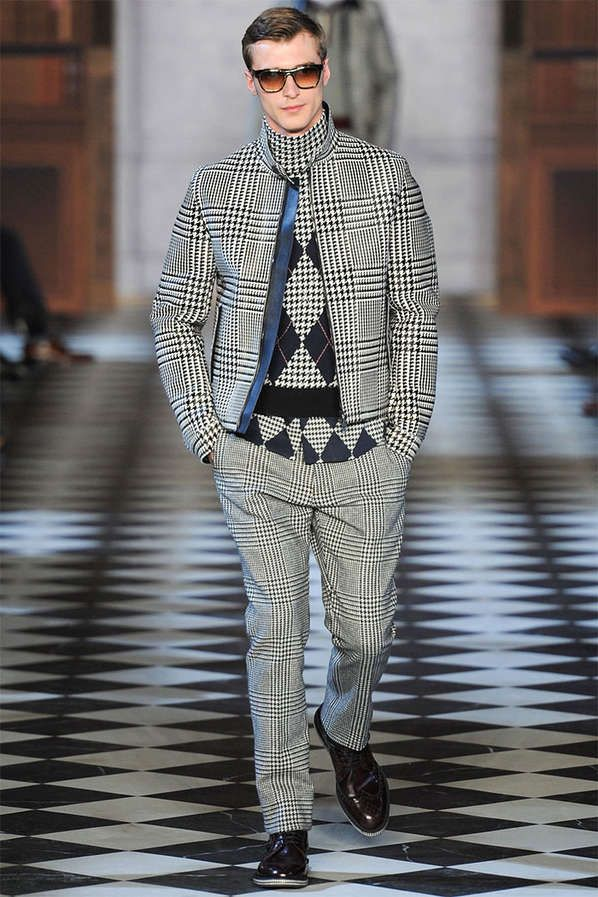 The Tommy Hilfiger Fall/Winter 2013 Collection is Elegantly Timeless #coats #mensfashion trendhunter.com
