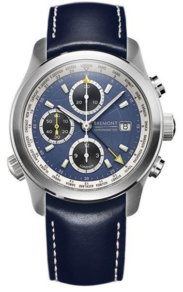 Bremont Watch World Timer ALT1-WT Blue