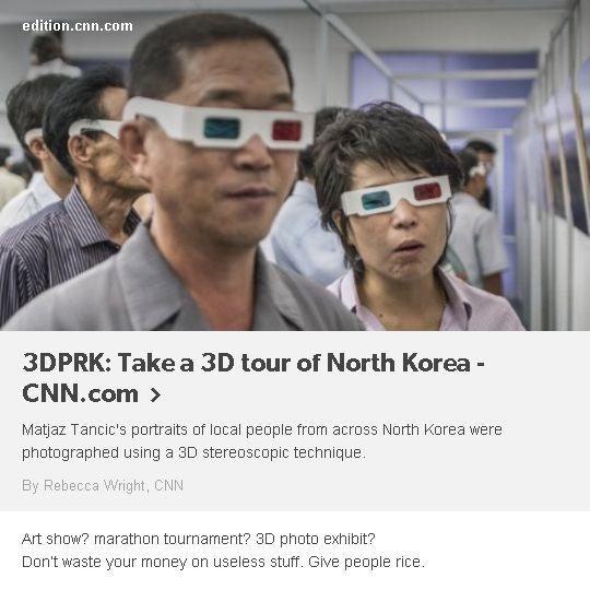#north #korea #3d #photo #show #exhibit