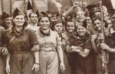 Spanish Civil War: Milicianas anarquistas de la CNT-FAI