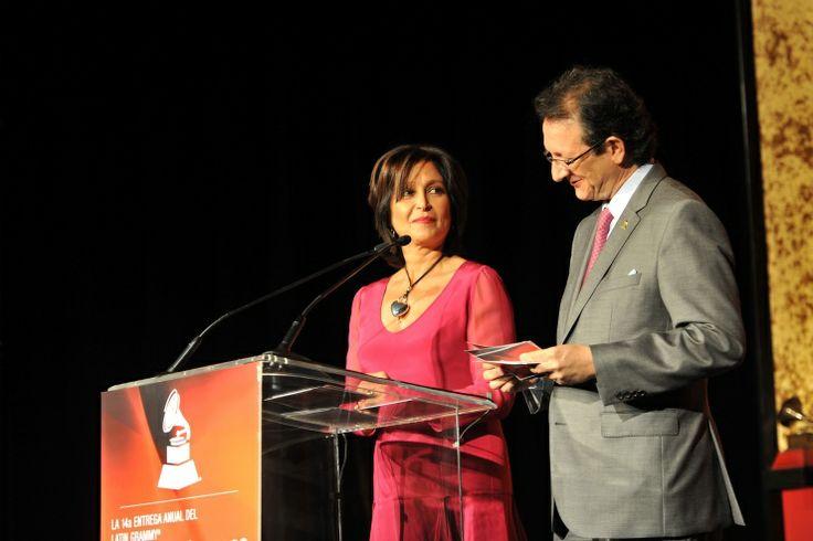 Daniela Romo y Gabriel Abaroa