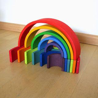 bouwen met de houten regenboog