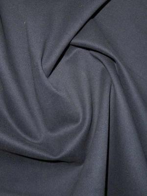 Soft-Baumwollsatin dunkelblau, Elastiksatin mit leicht geschmirgelter Oberfläche