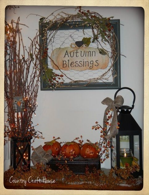 This And Decorate For Any Occasion Fall Decor By Country Craft House