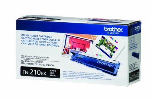 Brother TN-210BK Toner Cartridge - Retail Packaging - Black by Brother. $50.99. Black Toner Cartridge. Save 32%!