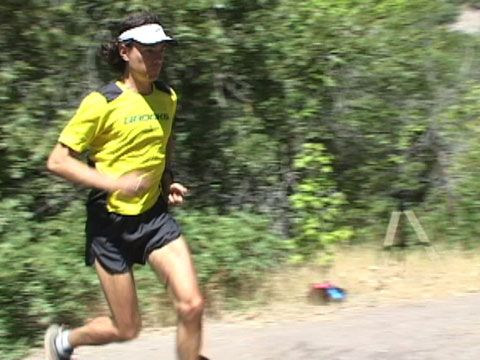Ultramarathon champion Scott Jurek shows you how to be more efficient when taking on hills.