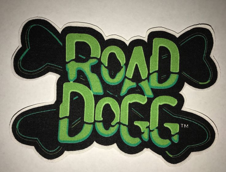 A personal favorite from my Etsy shop https://www.etsy.com/listing/538166431/road-dogg-wwf-applique
