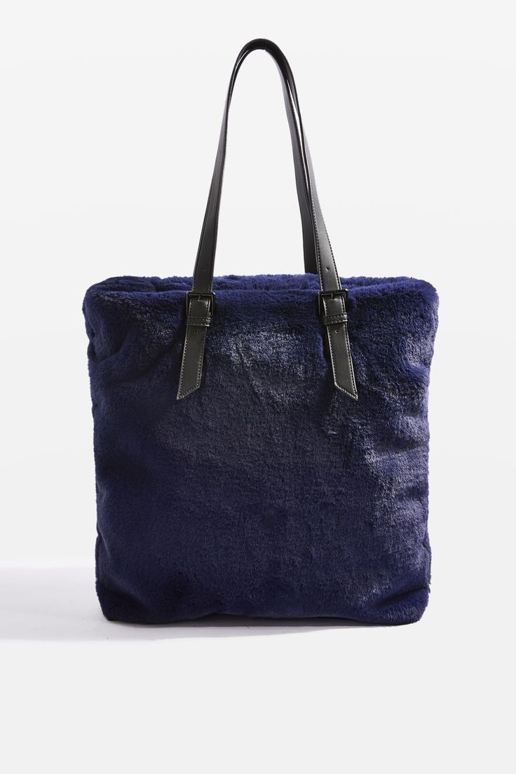 FREDDY Faux Fur Shopper Bag