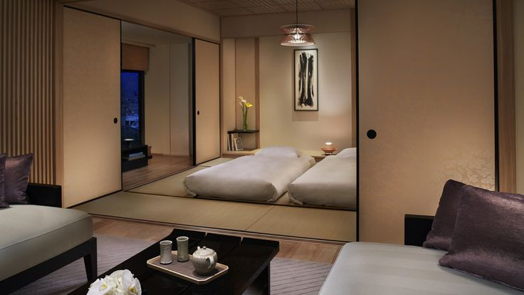 Tatami Room in Corner Suite - The Ritz-Carlton, Kyoto - Japan & Luxury Travel Advisor – luxurytraveltojapan.com - #Luxuryhotels #Kyoto #Japan #Japantravel #ritz-carlton