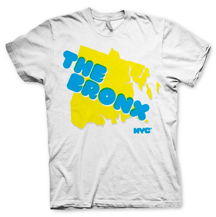 Cool Bronx Tee T Shirt Design For Merchandise Personalized Gift .
