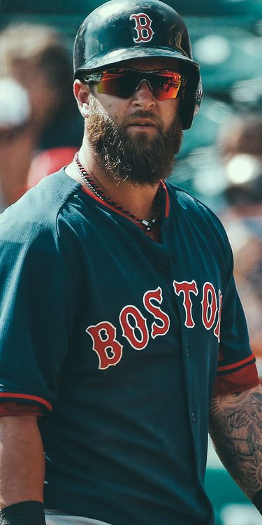 Mike Napoli Boston Red Sox looks like I just became a Red Sox fan