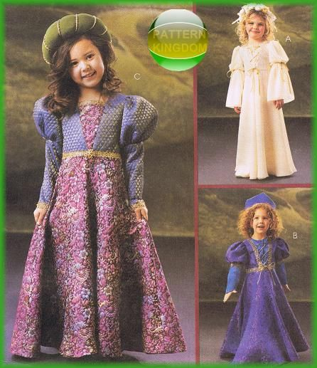 Renaissance Wedding Dress Costume History Mccall S By Heychica: 7 Best Early American Costume Patterns Images On Pinterest