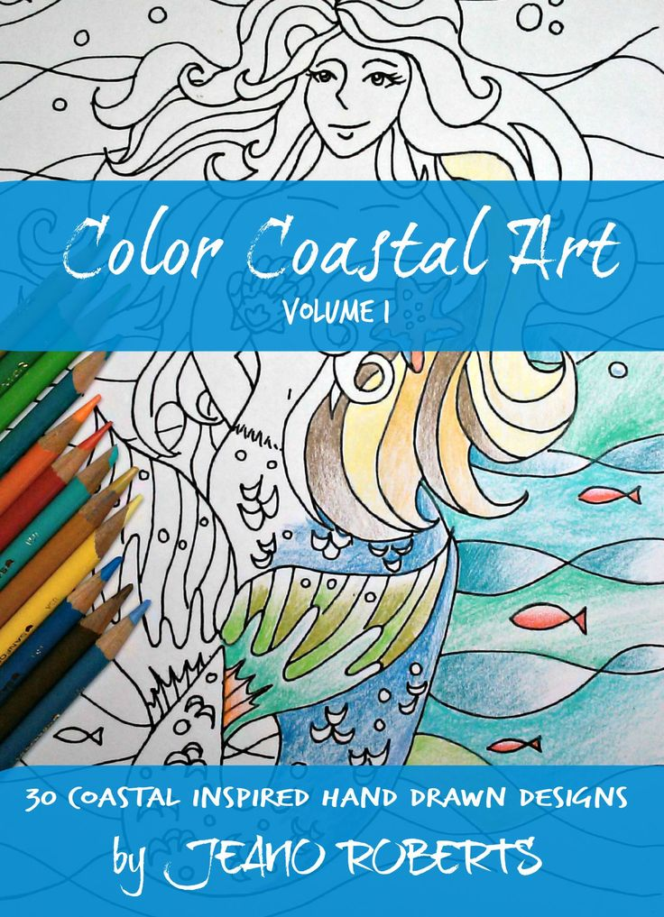 Coloring Book Etsy : 85 best colorcoastalart beach and coastal themed etsy store