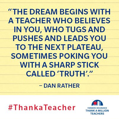 Remind The Teacher You Thanked To Submit A Grant Proposal Today