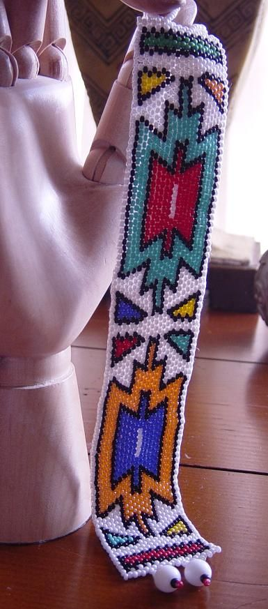 Ndebele Star Bracelet