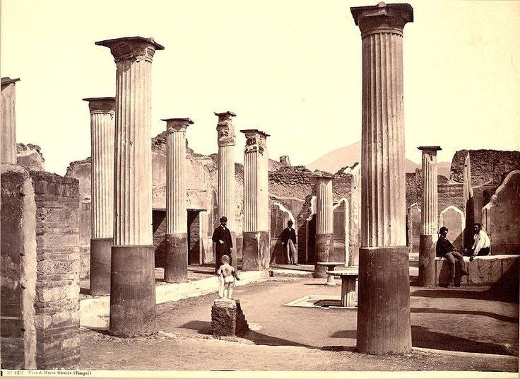 Sommer, Giorgio (1834-1914) - n. 4131 - Casa di Marco Olconio (Pompei)