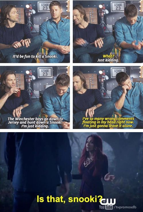 "Jensen Ackles and Jared Padalecki have talked about her off screen as well. | Snooki Had A Cameo On ""Supernatural"" And It Was Perfect"