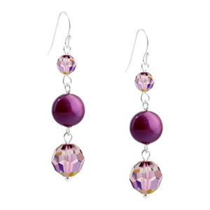 Richly Royal Earrings | Fusion Beads Inspiration Gallery | DIY Jewelry