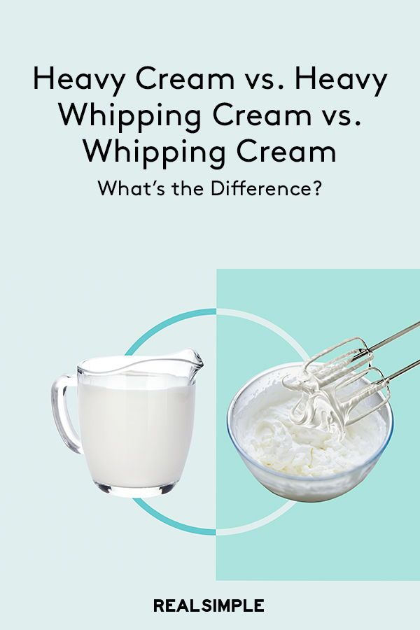 Whipping cream substitution milf