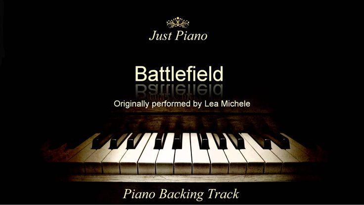 Battlefield by Lea Michele (Piano Accompaniment)