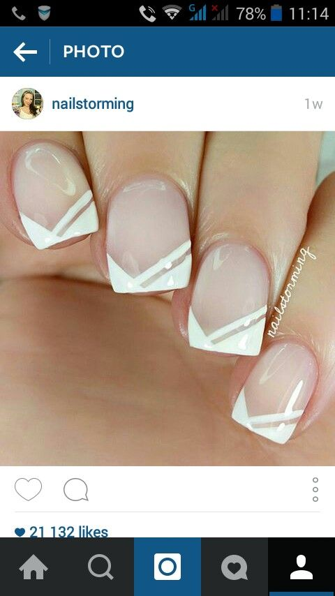 Great french manicure