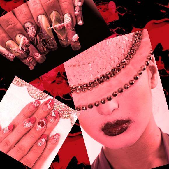 Japanese Nail design | Nailed It | Pinterest