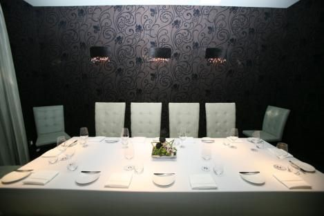 Private dining rooms @ Rush