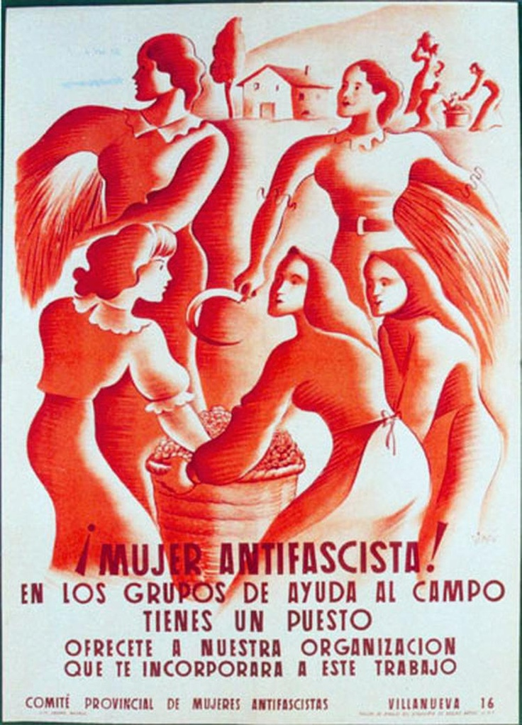 Republic propaganda poster | Spanish civil war 1936/39 #Afiches #Carteles #Spain @deFharo