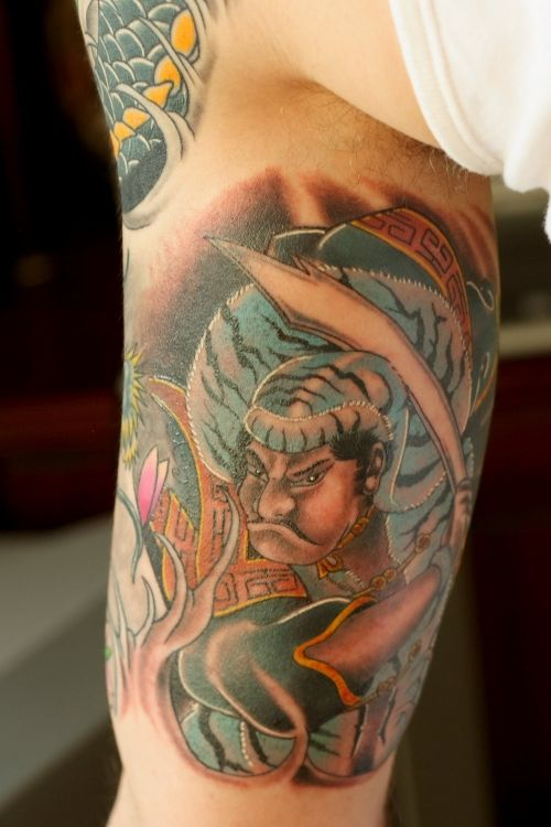 japanese-half-sleeve-tattoo-design-for-men ~ http://heledis.com/the-attractiveness-of-half-sleeve-tattoo-for-men/