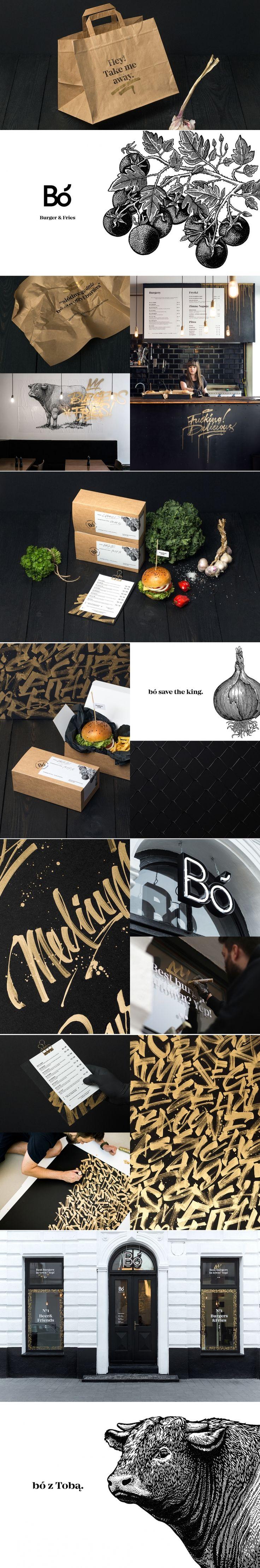 Bó Burger and fries — The Dieline | Packaging & Branding Design & Innovation News