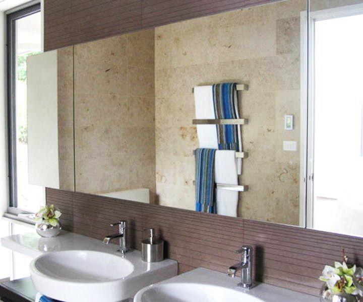 283 Frameless Bathroom Mirrors ~ http://lanewstalk.com/trends-of-2014-on-bathroom-wall-mirrors/