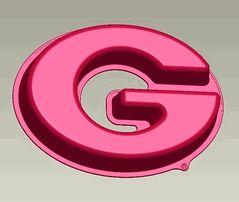Georgia UGA Bulldogs Power G Logo Cake Pan & Dessert Mold $26.00
