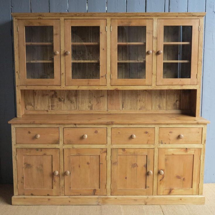 reclaimed pine kitchen dresser made to measure safeety