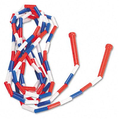 elementary school jump rope. Remember how much this would hurt when it whipped your legs?