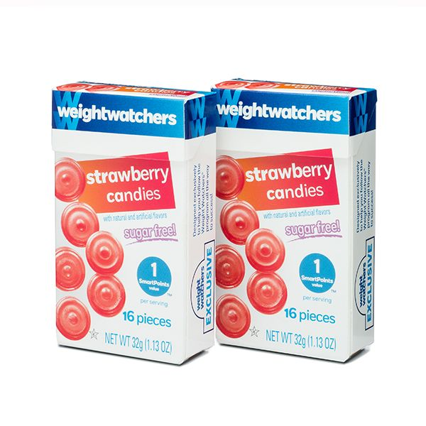 Image for Strawberry Sugar Free Candies Duo Pack from WeightWatchers.com: Online Store