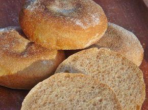 Nem vagyok mesterszakács: Teljes kiőrlésű angol muffin (reggeli zsemle)