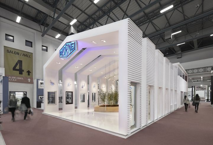 Exhibition Stand Tenders 2016 : Vorne fair stand at istanbul window by yerce