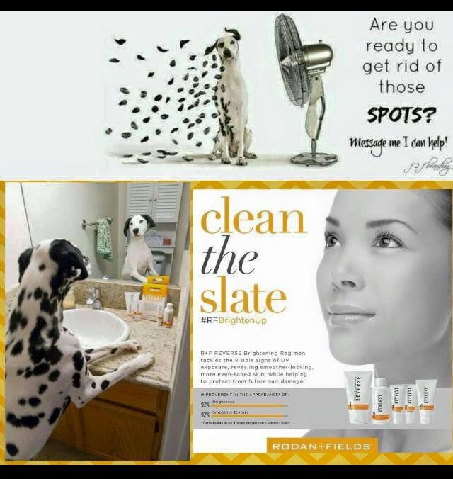 Rodan + Fields Reverse Regimen is for the appearance of brown spots, dullness and discoloration.  Clean the slate and see a brighter future for your skin.  60 day money back guarantee.  Message me on pinterest @ R+Fskincare101.