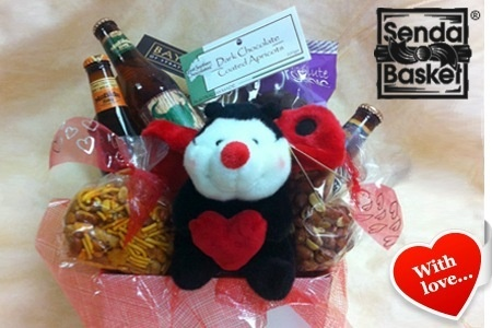 What to get for that 'little Devil' for Valentines Day? Wine, spirits or Beer with Savoury Treats and a little reminder