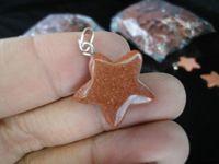 5 шт./лот звезда аметист розовый кварц опал зеленый авантюрин драгоценный камень исцеление чакра кулон в форме ожерелье