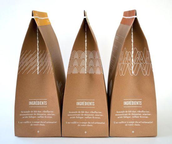 Student Spotlight: Pasta Salina — The Dieline - Package Design ...
