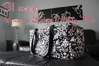 31 ways to use a Thirty-One Large Utility Tote :)