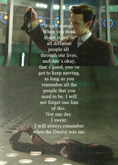 When the Doctor was me