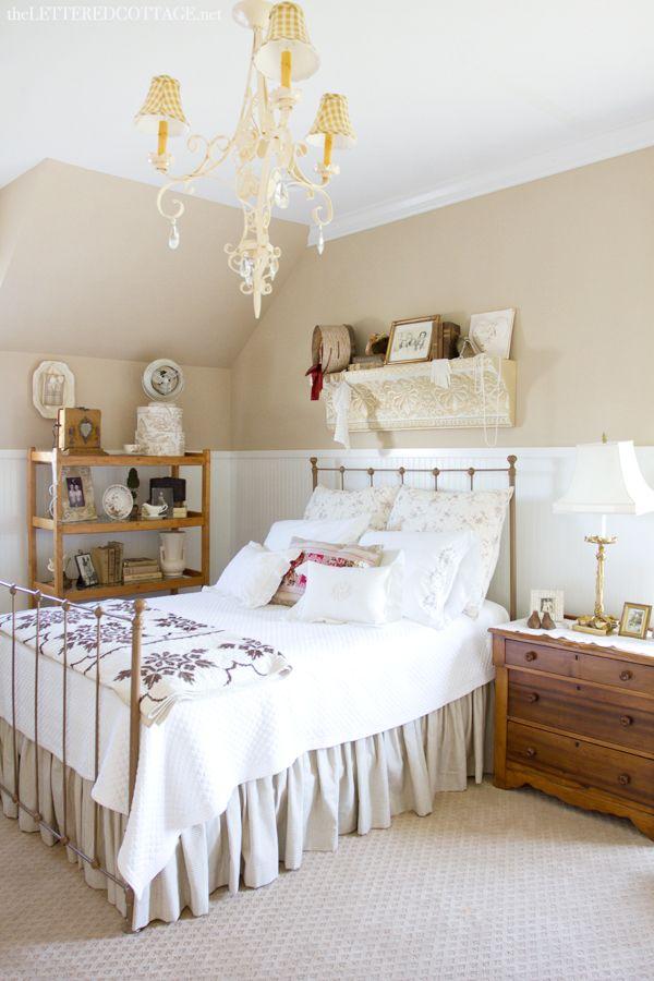 Antique Bedroom | The Lettered Cottage