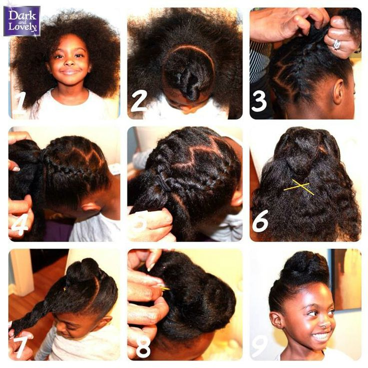 Brilliant 1000 Images About African Princess Little Black Girl Natural Short Hairstyles Gunalazisus