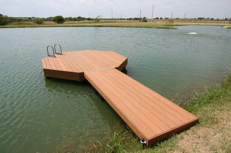Pond dock designs new octagon hickory dickory for Pond pier plans