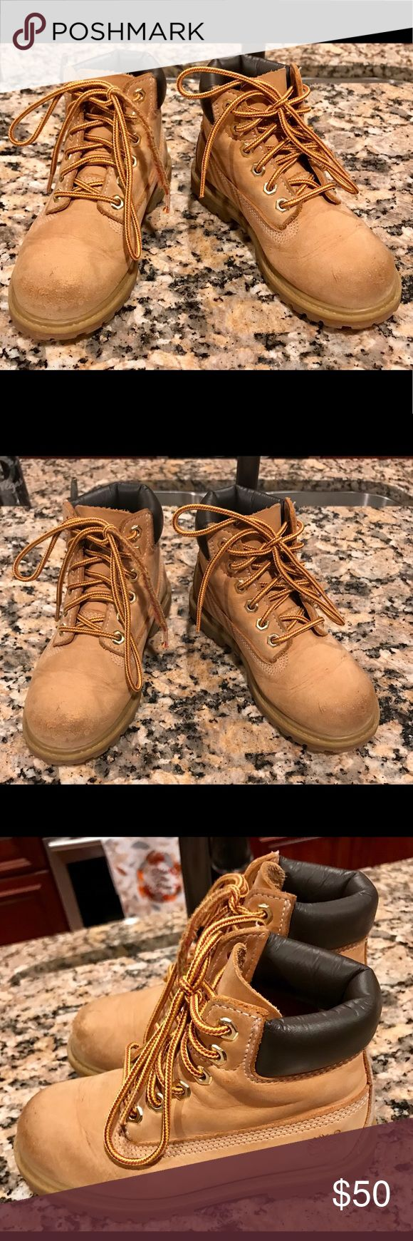 Boys Timberland Boots EUC. Very durable and sturdy boots. Timberland Shoes Boots