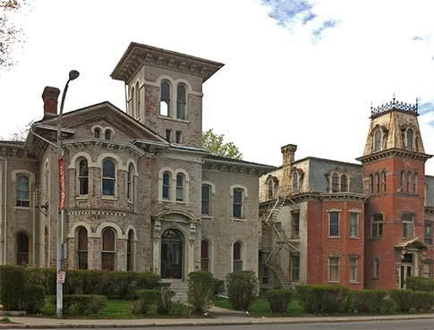 33 best italianate architecture images on pinterest for Architects rochester ny