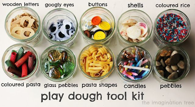make your own play dough tool kit & find out the benefits of playing with dough